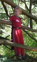 Thomas in a tree