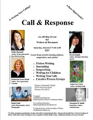 Call & Response Flyer