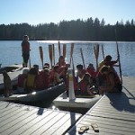 launching viking boats