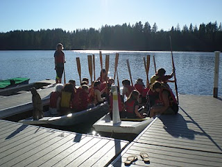 launching viking boats
